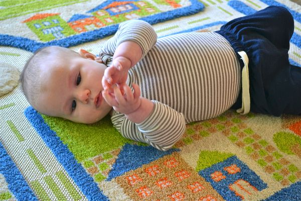 Grasping and in-hand materials for a 3-month old - how we ...