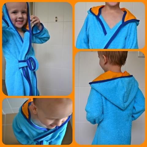 Child S Robe Tutorial By Made How We Montessori. Panda Super Leopard Print  Pattern Strapless Bathrobe Wearable Bath Towel ... 3894e2ca1