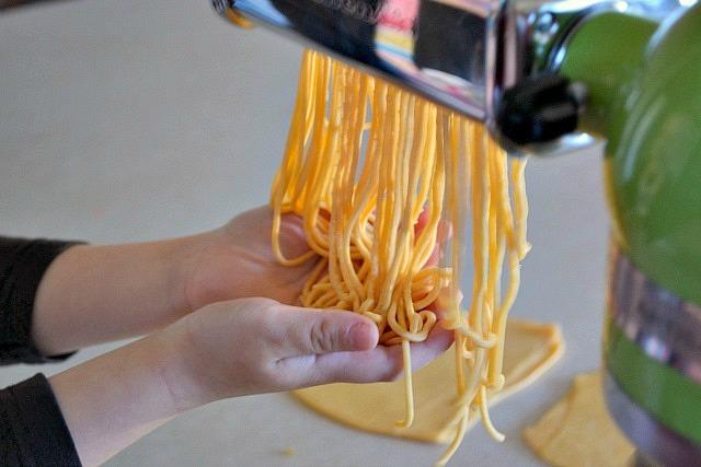 Lots of spaghetti!