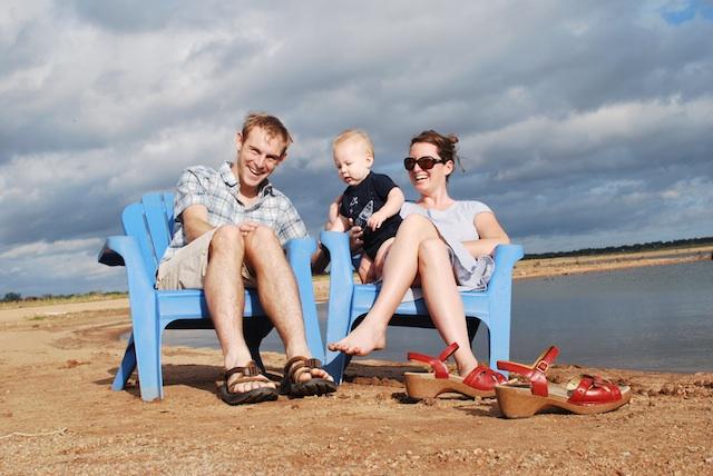 Matt, Sara and Henry