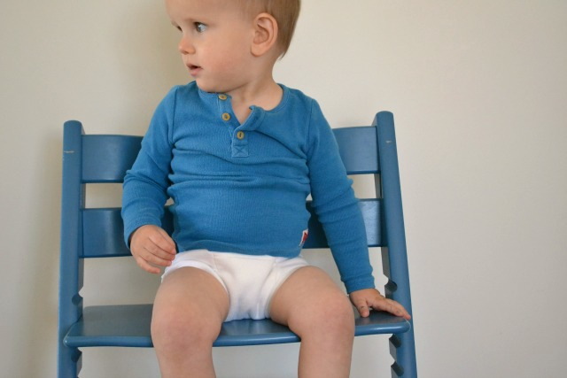 Otis in highchair 16 months