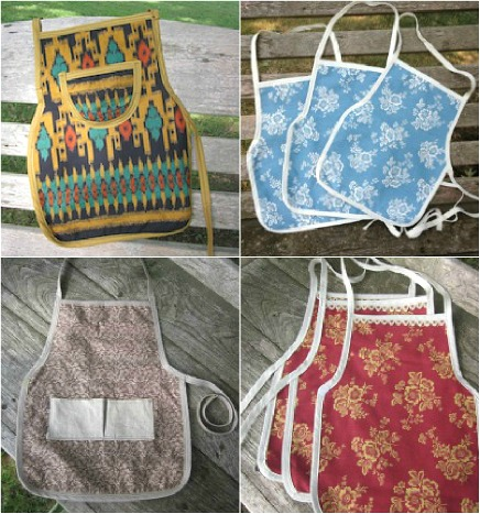 Montessori Toddler Aprons by GooseDesigns