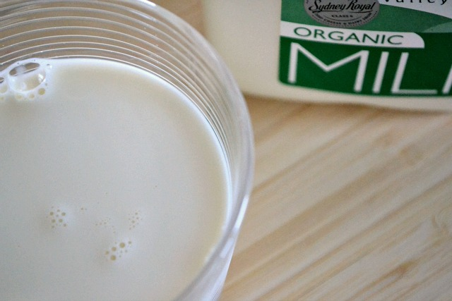 Do you drink organic milk?