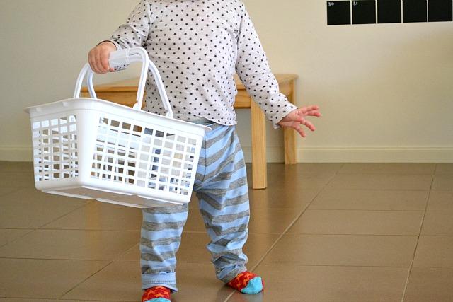 Otis holding basket