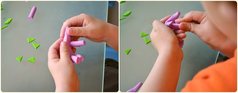 Strengthening hand muscles with FIMO