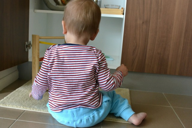 Ot in cupboard 17 mth