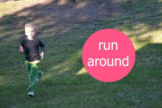 Caspar run around