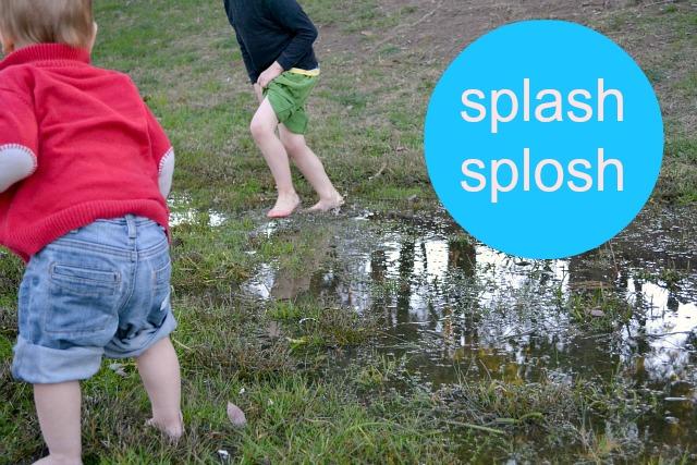 Splash splosh circle