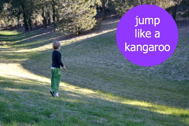 Jump like a kangaroo