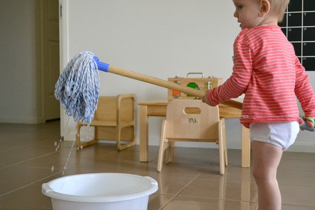 Toddler mop