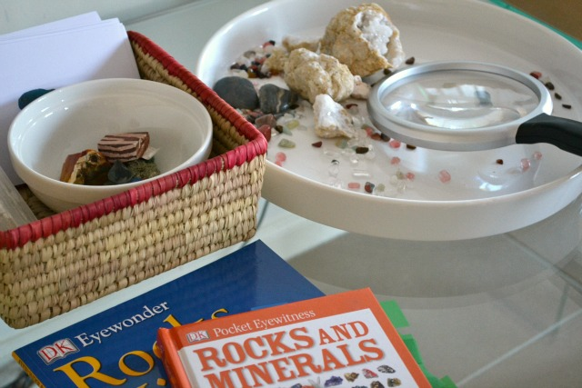 Rocks and Minerals Exploration - how we montessori