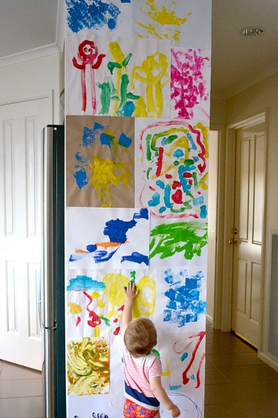 Wall art - how we montessori