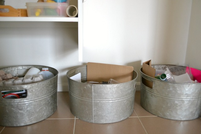 Recyclable tubs