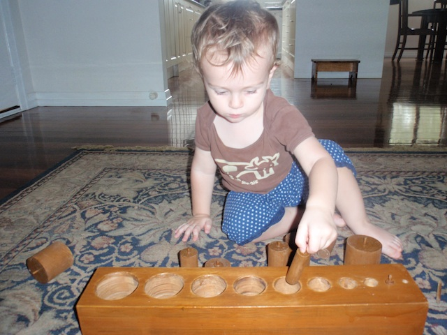Cylinder blocks at 17 months