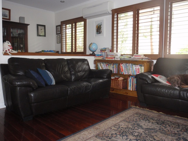 In a Montessori Home - living area