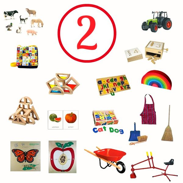 Montessori And Educational Gift Ideas For A Two Year Old