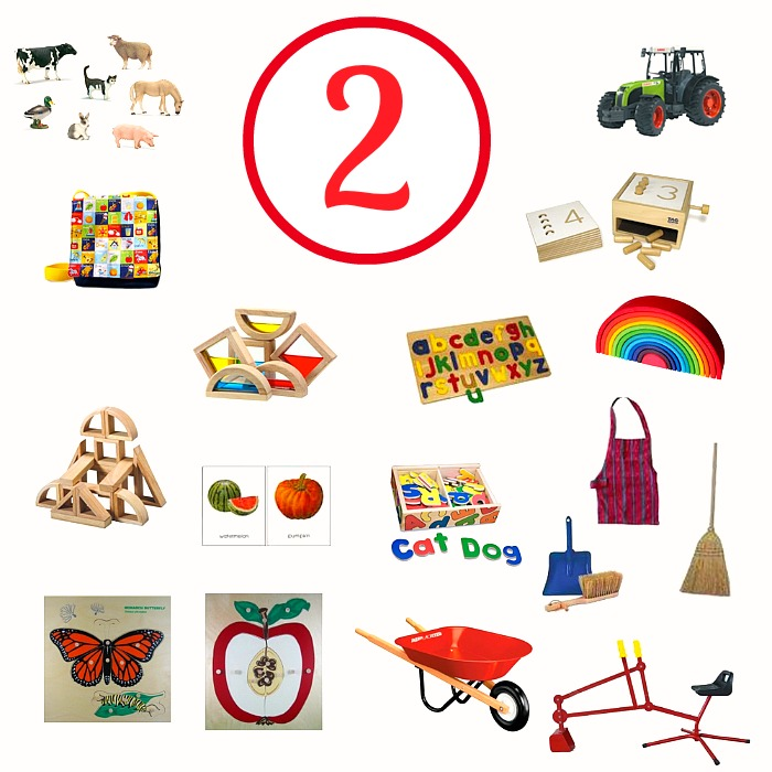 Montessori and Educational Gift Ideas for a Two-Year Old