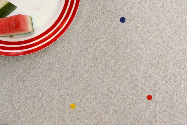 DIY Confetti Tablecloth - how we montessori