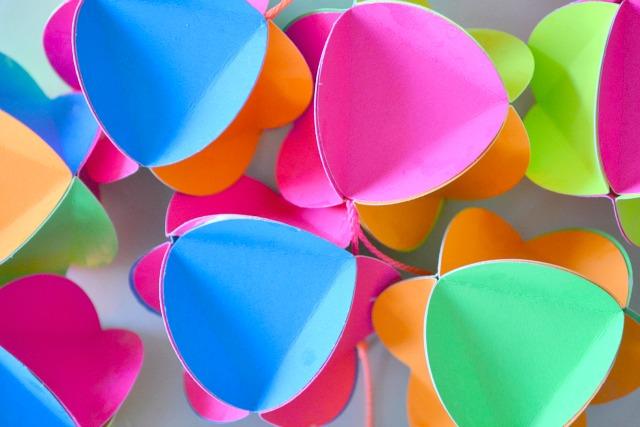 Neon baubles - how we montessori