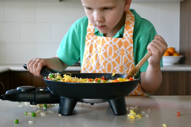 Using sense when cooking - fried rice