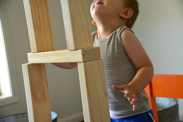 Montessori on blocks