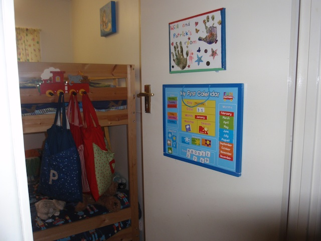 Bedroom door - Montessori Family