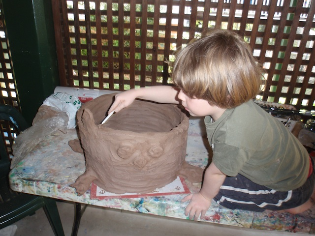 Montessori home inspiration - clay