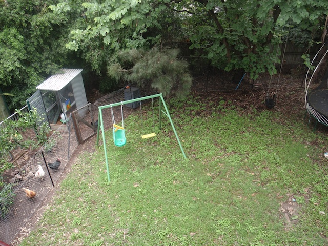 Montessori home backyard