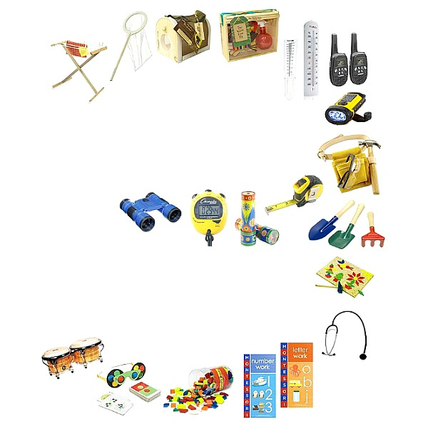 Montessori and educational gifts for three year old