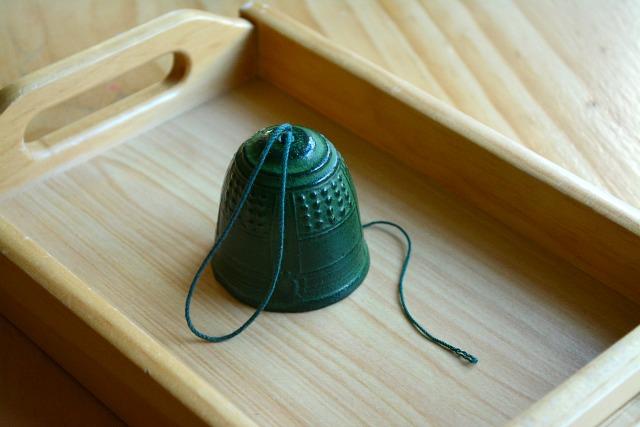 Japanese Bell - teaching gentleness