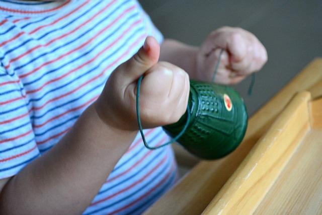 Ringing Japanese Bell - teaching gentleness