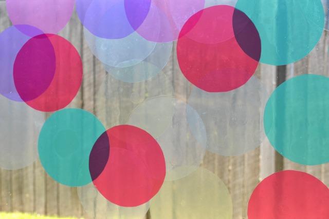 Circles in window