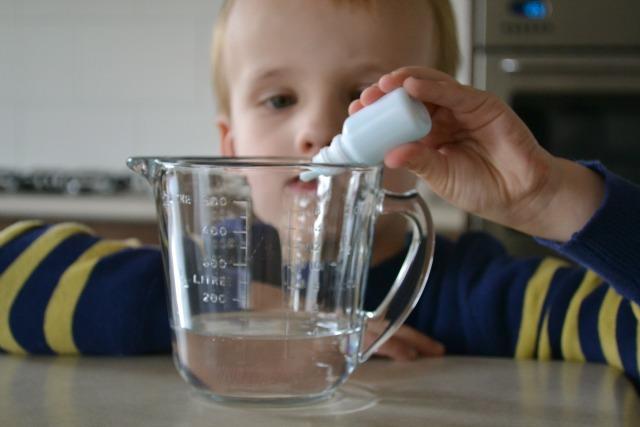 Measuring water conditioner
