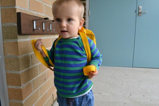 Otis arrives at school