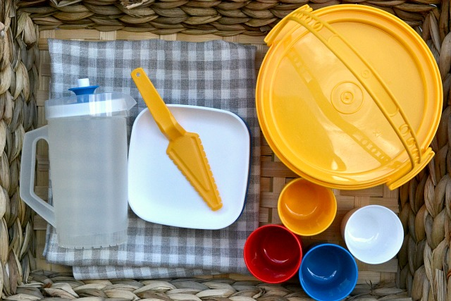 Tupperware Children's Picnic Set