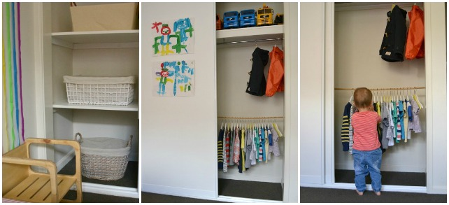 how we montessori - wardrobe