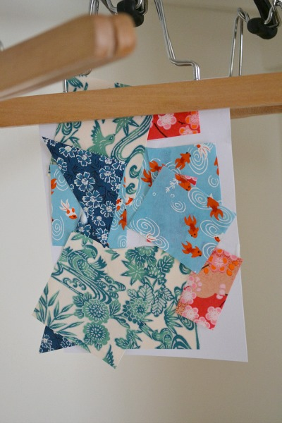 Pasting with special paper - how we montessori