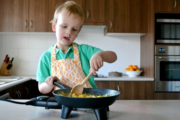 Kids Can Cook Fried Rice How We Montessori