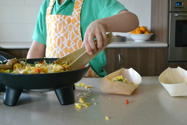 Kids Can Cook - Fried Rice
