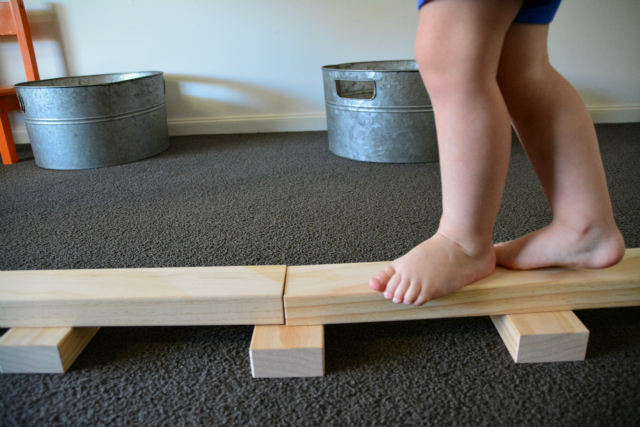 Montessori on blocks