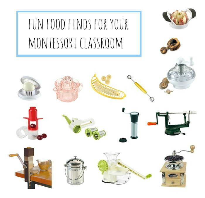 Fun Food Find For Your Montessori Classroom