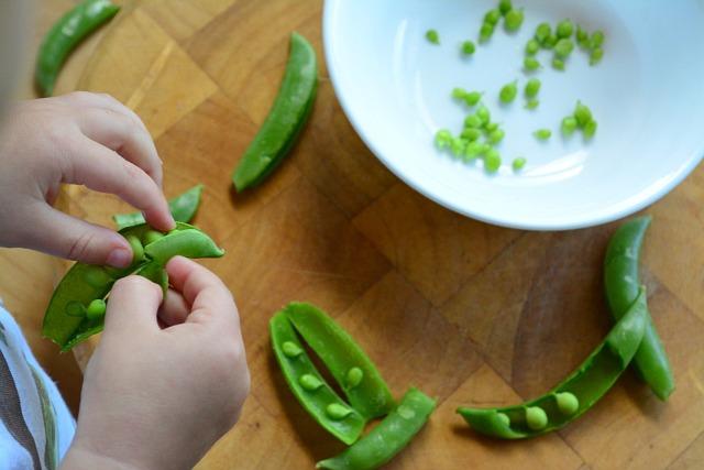 Otis shelling peas 24 months
