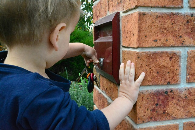 Opening the letter box 25 months