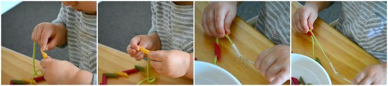Threading pasta 1