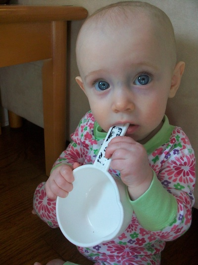 Even very young children can participate in meal preperation