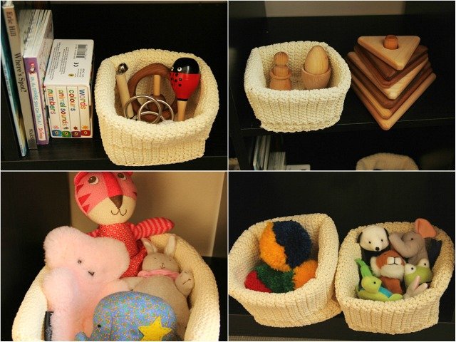 Kit baskets; musical, stacking, toys, toys 2