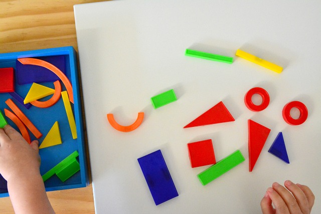 Otis with magnetic shapes 2