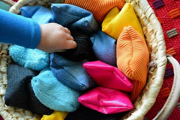 Diy Sensory Bean Bags How We Montessori