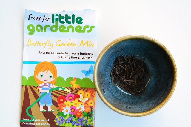 Seeds for little gardeners