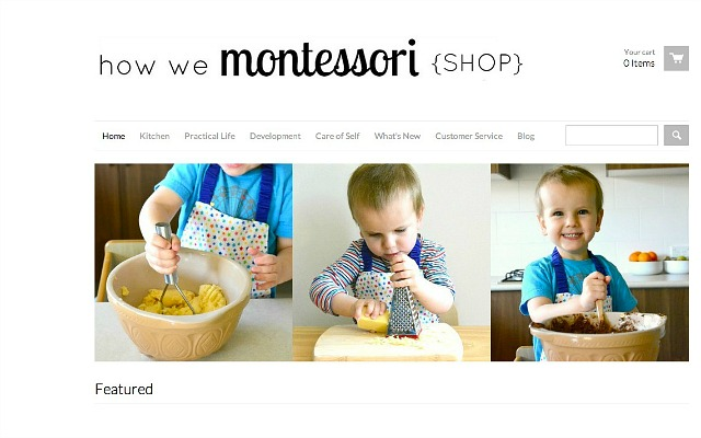 How we Montessori Shop - screenshot